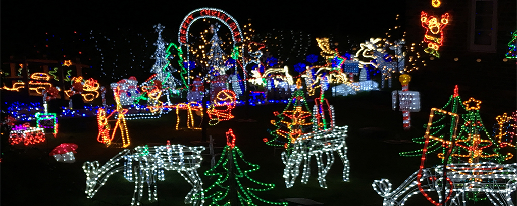 Weston Christmas Light Display